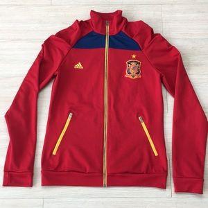 Adidas Track Jacket Espana Spain RFCF Womens
